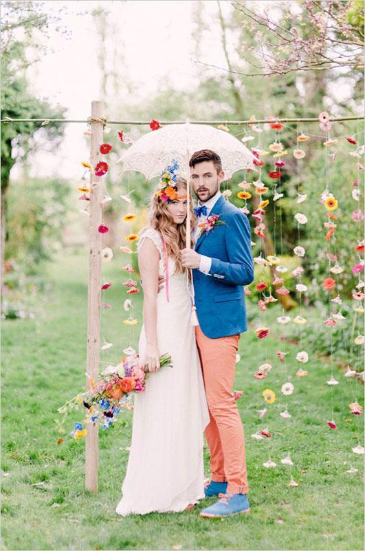 colore de marguerites ceremonie laique - Crmonie Laique Mariage